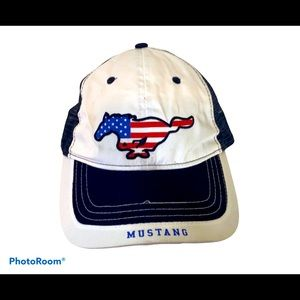 Ford Mustang Flag Horse Hat